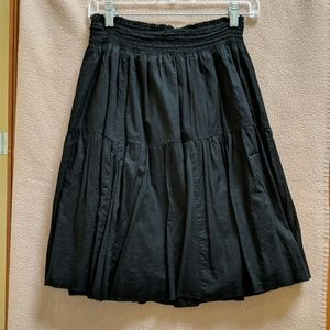 Old Nay black and blue skirt